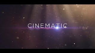 Cinematic Trailer Titles Template  #313 Sony Vegas Pro