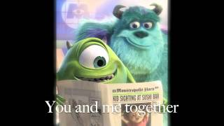 monsters inc end song