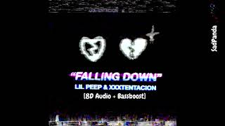 Lil Peep & XXXTENTACION - Falling Down (8D Audio Use Headphones)