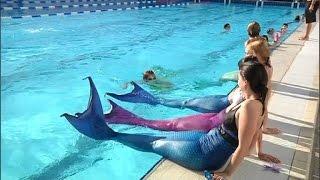 Se transformer en sirène, possible dans une piscine de Meurthe-et-Moselle