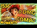 When Combo Decks FAIL To Win  Hearthstone Daily Moments Ep.1536
