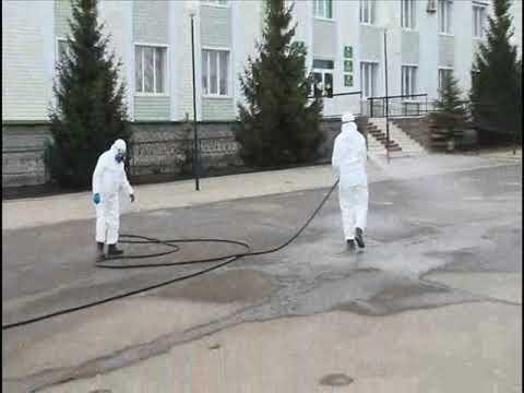 В Шаранском районе проводится дезинфекция территорий