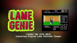 Lame Genie - Friday The 13th - Exploring Camp Crystal Lake (Outside Theme) Cover