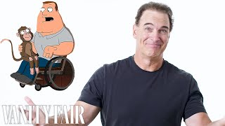 Patrick Warburton (Joe Swanson) Reviews Impressions of His Voice   Vanity Fair