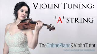 Violin Tuning Note Sound: A STRING