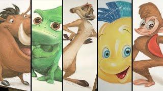 Sketchbook: Compañeros Disney