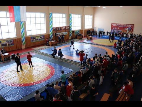 Первенство Республики Башкортостан по борьбе на поясах c. Верхние Татышлы 25 января 2020 г.
