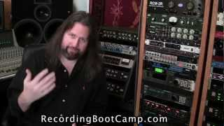Audio Recording Boot Camp. Improving your kick drum sound