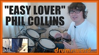 ★ Easy Lover (Phil Collins) ★ Drum Lesson PREVIEW | How To Play Song (Phil Collins)