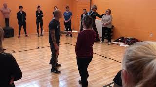 Women's Self Defense 2019-kick punch counter with escape
