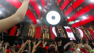Tiesto at ultra music festival Miami