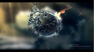 Most Water & Fire INTRO for CAMTASIA and Movie maker (NO TEXT) | FREE