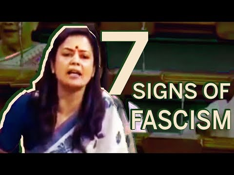 IDENTIFYING FASCISM: Mahua Moitra gives the world a lesson