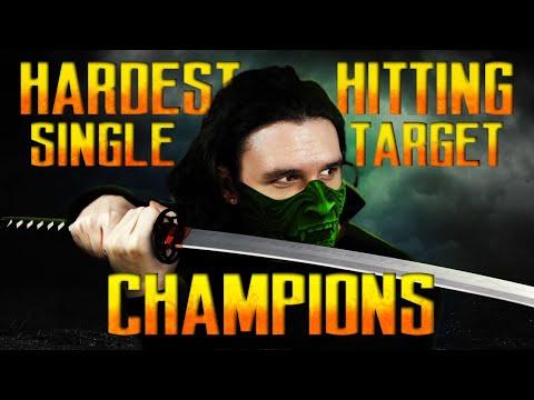 Top 5 SINGLE TARGET Damage Dealers in Raid Shadow Legends