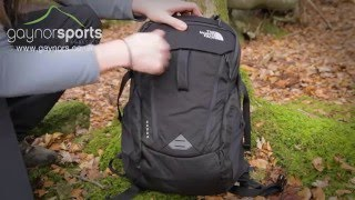 The North Face Surge Backpack. www.gaynors.co.uk