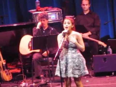 Ariana Grande singing in Broadway in South Africa (Live)