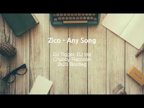 지코(ZICO) - 아무노래(Any Song) (바운스 리믹스/Bounce Remix) [가사/Lyric Video] 아무노래 나이떠!! / Any Song Nice!!