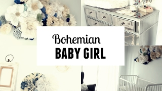 BOHEMAIN NURSERY BABY GIRL ♡  l ROOM TOUR 2017