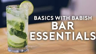 Bar Essentials   Basics with Babish