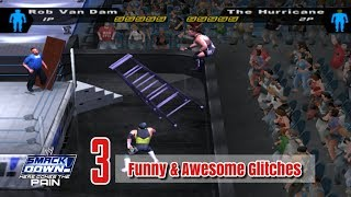 3 Funny And Awesome Glitches In WWE SmackDown! Here Comes The Pain (2003)