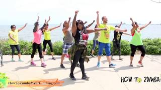 Staying Alive - Bee-Gees Cover (Cumbia, Zumba® Fitness Choreography)  |ZIN 68 | @How2Zumba