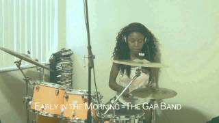 Early in the Morning - The Gap Band Drum Cover (Female Drummer)