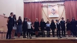 """""""Бъдни вечер"""" - изп. вокална формация """"Вочереле"""", НМУ"""
