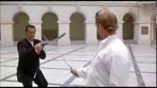 epic swordplay Steven Seagal Out of reach