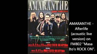 AMARANTHE - Afterlife (acoustic live version)