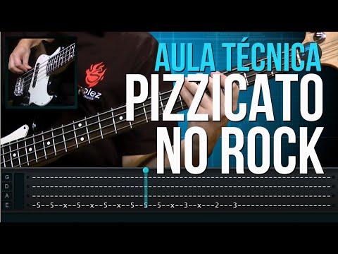 Pizzicato no Rock (aula técnica de contra-baixo)