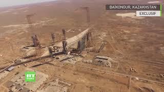 Le site martien du cosmodrome de Baïkonour à vol d'oiseau