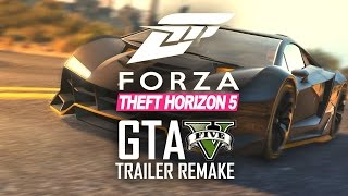 Forza Horizon 3 Trailer Remake in GTA V!