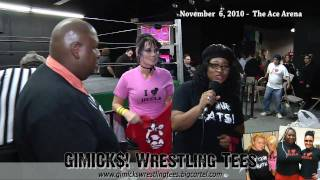 Jessicka Havok & GIMICK$! Wrestling T-shirts