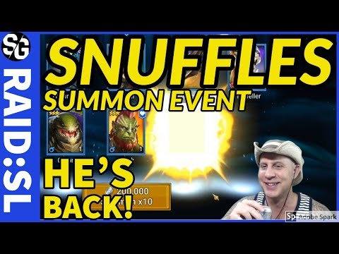RAID SHADOW LEGENDS | SUMMON EVENT SNUFFLES RETURN