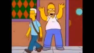 Homero Simpson Una Cerveza De Rafaga