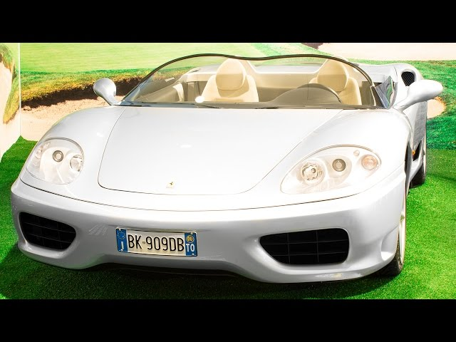 FERRARI 360 BARCHETTA | 1 of 1 - FERRARI MUSEUM 2015 HQ