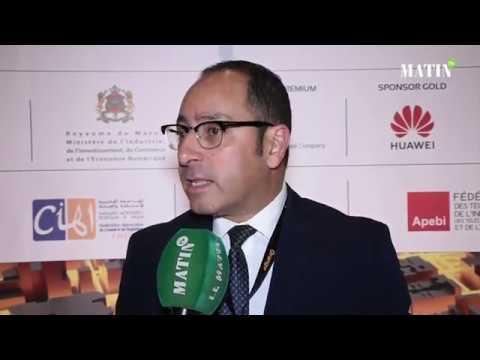 Video : Symposium de la Fibre optique et des Bâtiments connectés : Déclaration de Chakib Achour