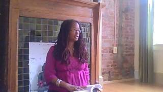Author @AnandaLeeke discusses the power of Buddhism in her life @FlowYogaCenter in DC