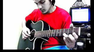 With or without you - fingerstyle cover - U2 feat. jay kaith
