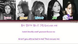 Red Velvet (레드벨벳) – Peek-A-Boo (피카부) Lyrics (Han|Rom|Eng|Color Coded)