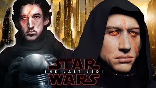 Kylo Ren's New Look - Star Wars Episode 8 The Last Jedi