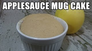 Applesauce Mug Cake Recipe | Episode 181