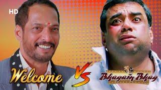 Welcome  V/S Bhagam Bhag - Best Of Comedy Scenes - Paresh Rawal - Akshay Kumar - Nana Patekar