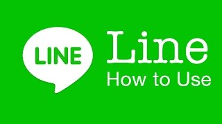 Line App:  How to use