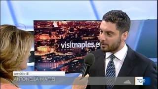 Reportage su Visit Naples a Rai3