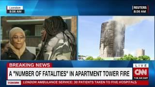 London fire  Blaze engulfs apartment block    live updates   CNN com