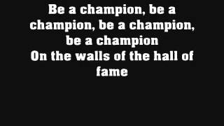 Hall of Fame - The Script ft. Will i am (with lyrics)