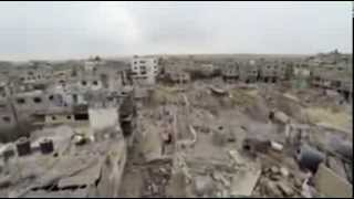 Drone Footage Shows What War Looks Like in Palestine  Peace Gaza!