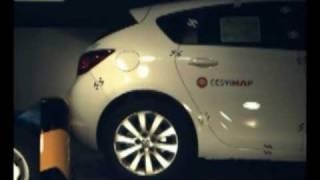2010 Opel Astra J Low-Speed Rear Impact (RCAR)