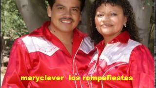 MARYCLEVER LOS ROMPEFIESTAS 2014  LLORO MIS PENAS  http://www.radiorocionewyork.com/